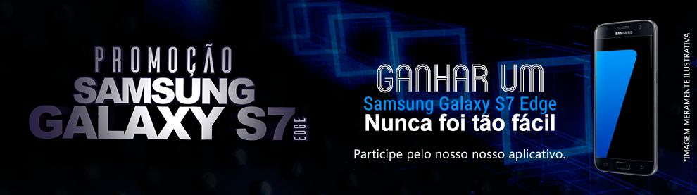 Ganhar um Samsung Galaxy S7 Edge nunca foi tão fácil