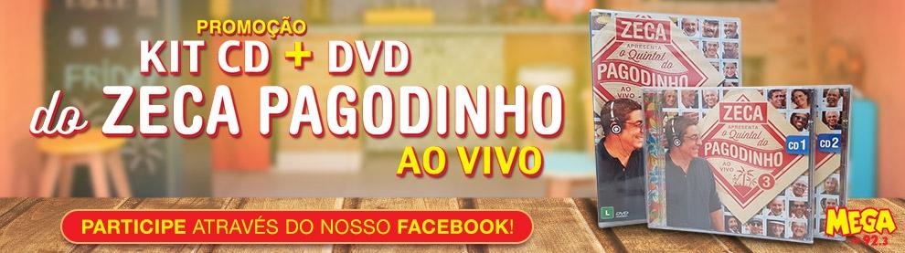 DVD e CDs Zeca Pagodinho