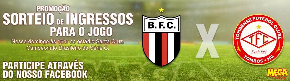 Promoção Ingressos Botafogo x Tombense Brasileirão Série C