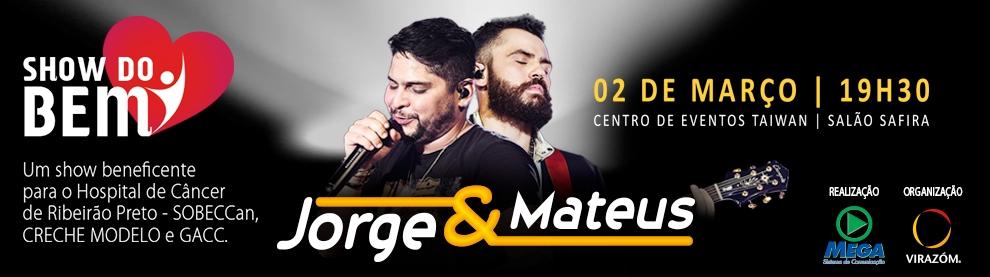 Show do Bem - Jorge e Mateus