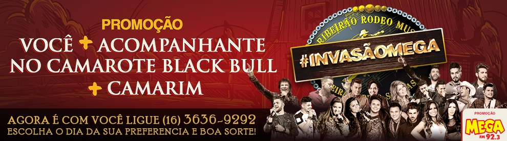 Promoção Camarote Black Bull + Camarim RRM 2017