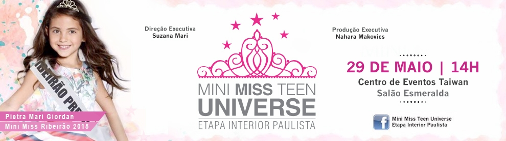 Mini miss teen universe 2016